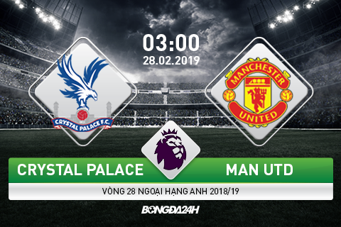 Preview Crystal Palace vs Man Utd