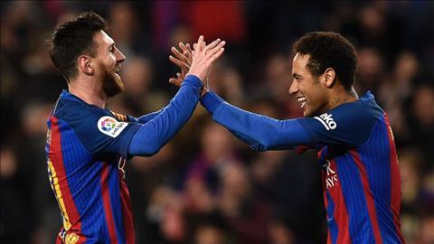 Neymar lên tiếng cảm ơn Lionel Messi hình ảnh