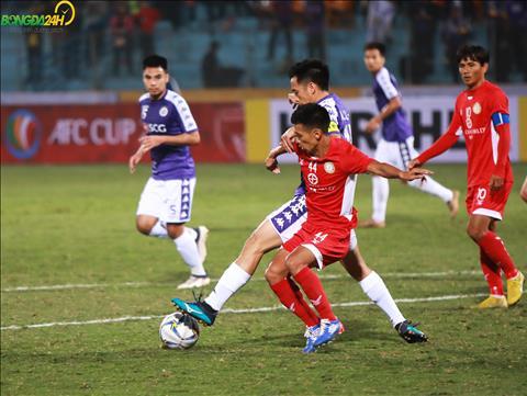 Thu quan cua Ha Noi FC da co mot ngay thi dau an tuong khi ta xung huu dot trong hang phong ngu Nagaworld.