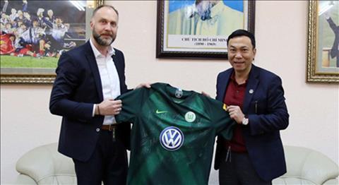 U22 Việt Nam sắp được đá giao hữu với đội bóng VfL Wolfsburg hình ảnh