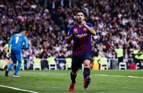 Real vs Barca Suarez lap cu dup