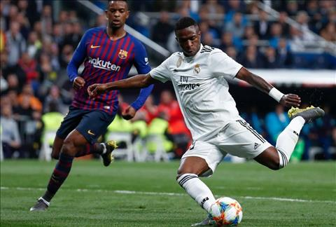 Real vs Barca Vinicius bo lo co hoi