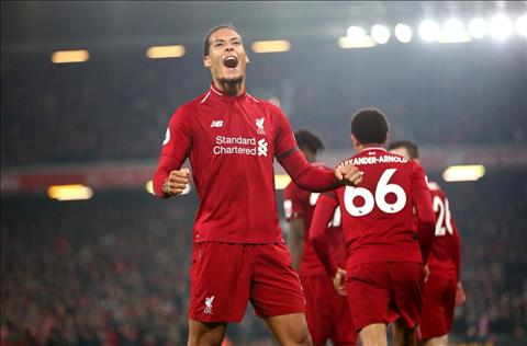 Virgil van Dijk phát biểu sau trận Liverpool 5-0 Watford hình ảnh