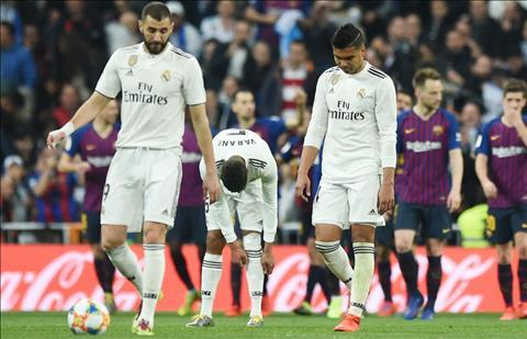 Real thua Barca 0-3