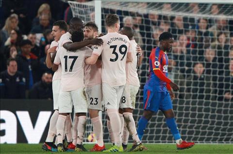 Những thống kê đáng nhớ sau trận đấu Crystal Palace 1-3 MU hình ảnh