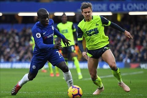 Kante Chelsea vs Hudder