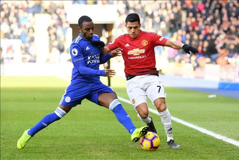 Alexis Sanchez tran MU vs Leicester