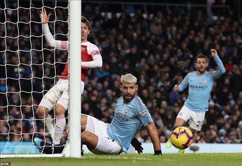 Aguero thừa nhận bàn thắng vào lưới Arsenal không hợp lệ hình ảnh