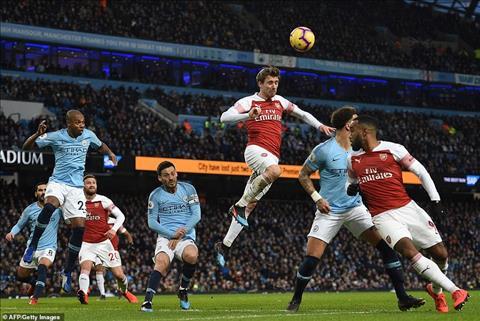 Dư âm Man City 3-1 Arsenal Thảm họa phòng ngự Pháo Thủ hình ảnh