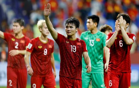 ĐT Việt Nam thăng hạng trên BXH FIFA thế giới tháng 32019 hình ảnh