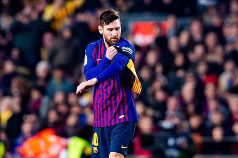 Messi vao san o El Clasico