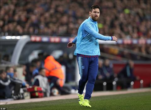 Messi vao san vao nua cuoi hiep 2 va khong kip de lai dau an nao ro ret