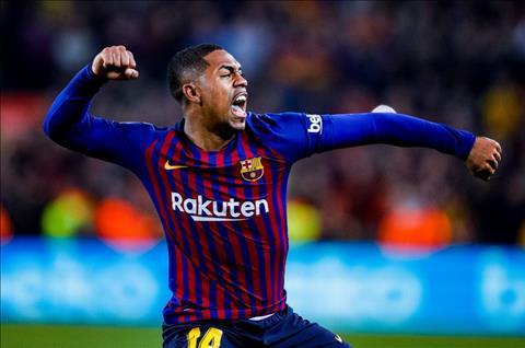 Malcom ghi ban cho Barca