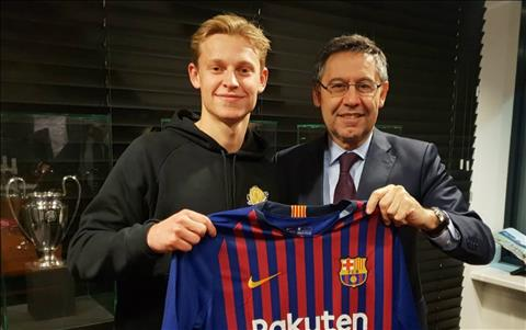 Frenkie De Jong muốn gắn bó trọn sự nghiệp với Barcelona hình ảnh