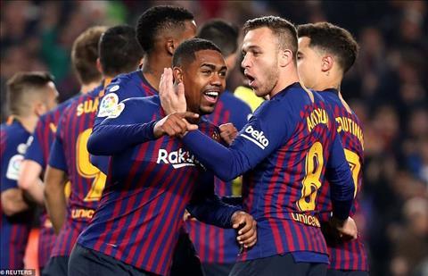 Malcom phát biểu sau trận đấu Barca 1-1 Real hình ảnh