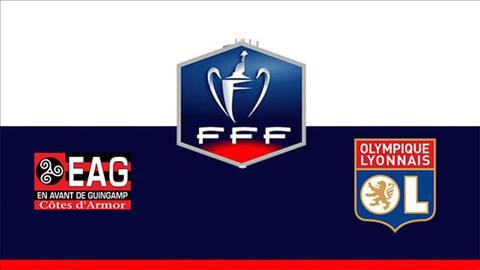 Guingamp vs Lyon 3h00 ngày 82 (Cúp quốc gia Pháp 201819) hình ảnh