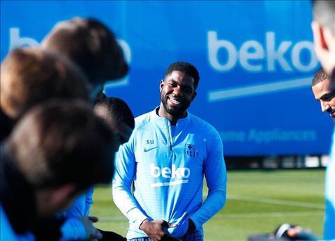 Barca đón tin vui từ trung vệ Umtiti hình ảnh