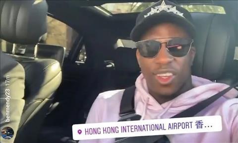Benjamin Mendy lên tiếng giải thích lý do trốn sang Hong Kong hình ảnh
