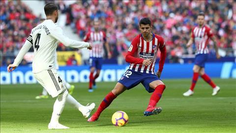 Kết quả Atletico vs Real Madrid La Liga 2018 - 2019 hôm nay hình ảnh