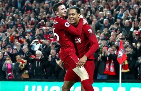 Andy Robertson khen ngợi Virgil van Dijk, đồng đội Liverpool  hình ảnh