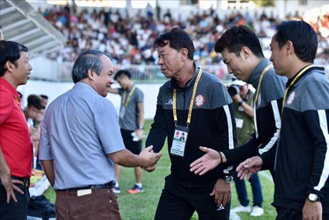 HLV Chung Hae Soung nói gì sau 3 điểm có được trước HAGL hình ảnh