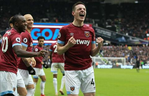 MU mua tiền vệ Declan Rice của West Ham vào mùa hè 2019 hình ảnh