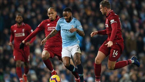 Raheem Sterling so sánh giữa Liverpool và Man City hình ảnh