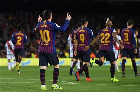 Những thống kê ấn tượng sau trận đấu Barcelona 3-1 Rayo Vallecano hình ảnh