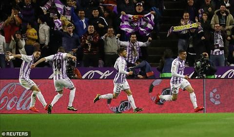 Valladolid xuat sac vuon len dan truoc