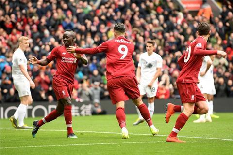 Liverpool 4-2 Burnley Firmino Mane