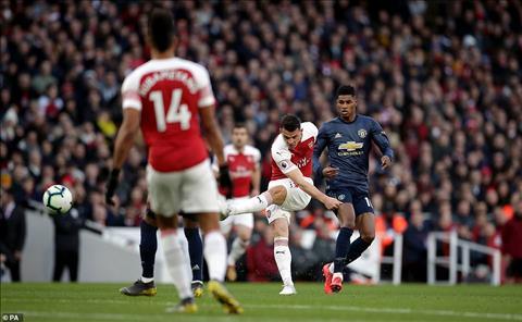 Xhaka Arsenal 2-0 MU
