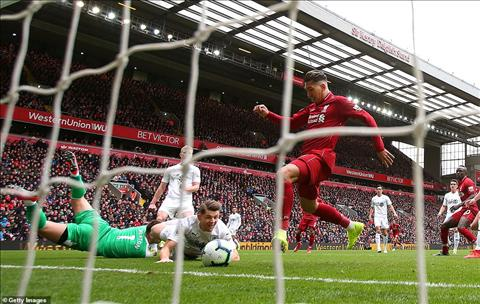 Liverpool 4-2 Burnley Firmino ghi ban