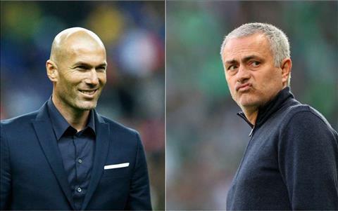 Zidane va Mourinho