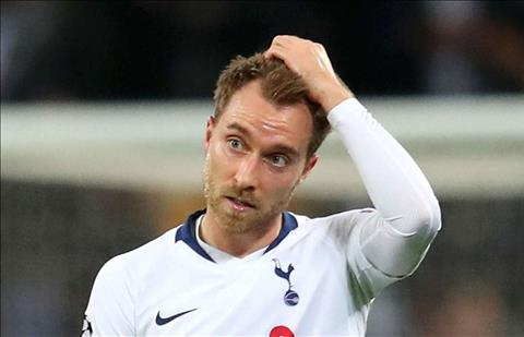 Christian Eriksen thừa nhận muốn rời Tottenham để thử thách hơn hình ảnh
