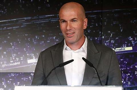 Zidane tro lai Real