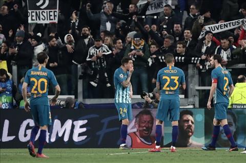 Atletico thua Juventus 3-0