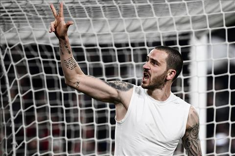 Bonucci noi ve tran thang Atletico Madrid