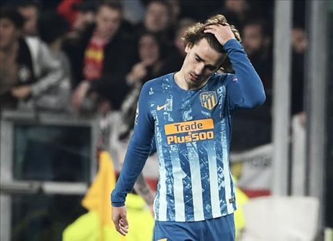 Griezmann that vong sau tran thua Juventus