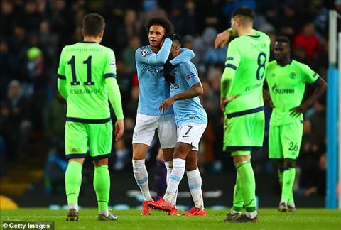 Du am Man City 7-0 Schalke