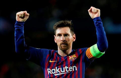 Barca vs Lyon Messi an tuong