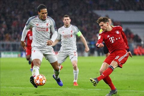 Bayern vs Liverpool Van Dijk tranh bong