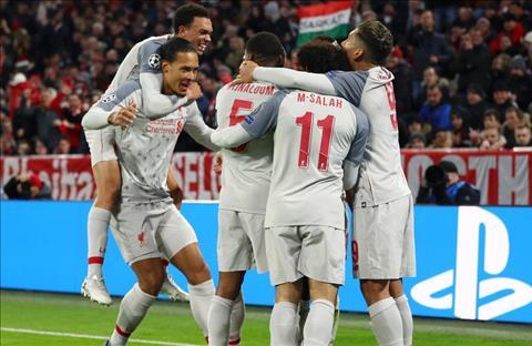 Liverpool thang Bayern