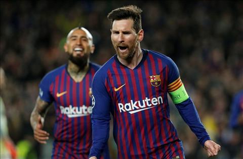 Sergio Busquets khen ngợi Lionel Messi - đồng đội tại Barca hình ảnh