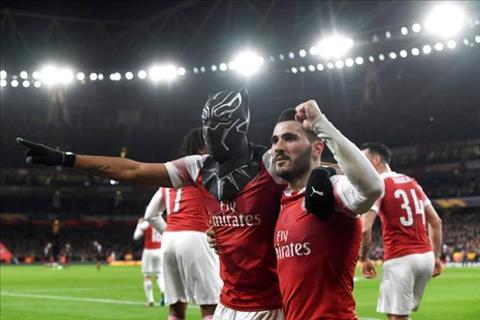 Aubameyang Arsenal 3-0 Rennes