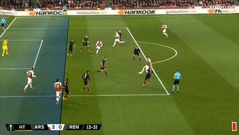 Song 1/3 ban thang cua Arsenal le ra khong duoc cong nhan vi loi viet vi