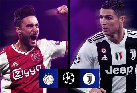 Juventus vs Ajax Amsterdam tứ kết Champions League 201819 hình ảnh