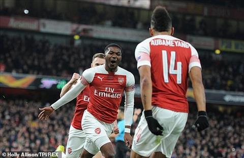 Aubameyang và HLV Emery phát biểu trận Arsenal 3-0 Rennes hình ảnh
