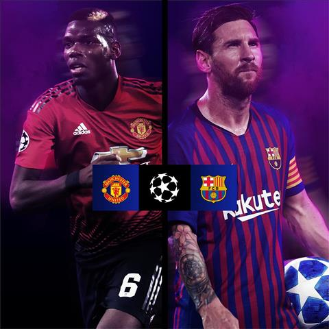 Barca vs Man Utd
