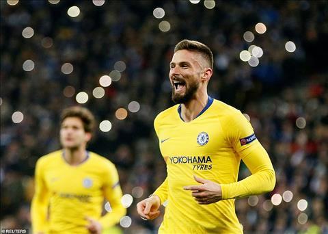 Giroud phát biểu trận Chelsea vs Arsenal chung kết Europa League hình ảnh