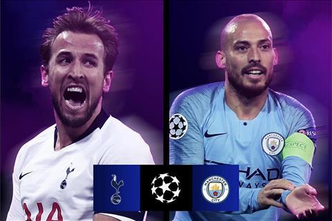 Tottenham vs Man City tứ kết cúp C1 Nội chiến xứ sương mù hình ảnh